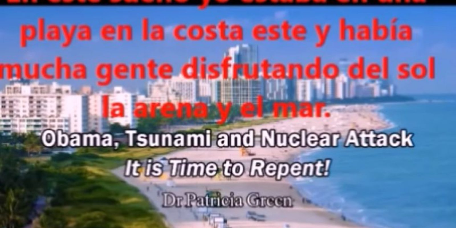 El tsunami inundará los ríos y matará a más gente. Muchos morirán por la pestilencia. Foto:vía Youtube