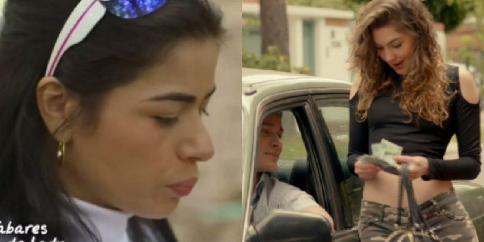 Angie Tabares podría ser Liliana, la hermana de la protagonista. Aunque el papel no está inspirado en sus vivencias. Foto:Tomada de http://ladylavendedoraderosas.canalrcn.com