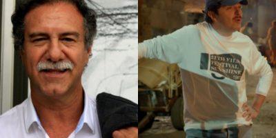 Victor Gaviria es Marco García. Ernesto Benjumea le da vida en la serie. Él es el director de la película. Foto:Tomada de http://ladylavendedoraderosas.canalrcn.com