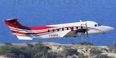 El avión YV2869, que según lapatilla.com habría llevado a 'Timochenko' a Cuba Foto:Tomada de jetphotos.net