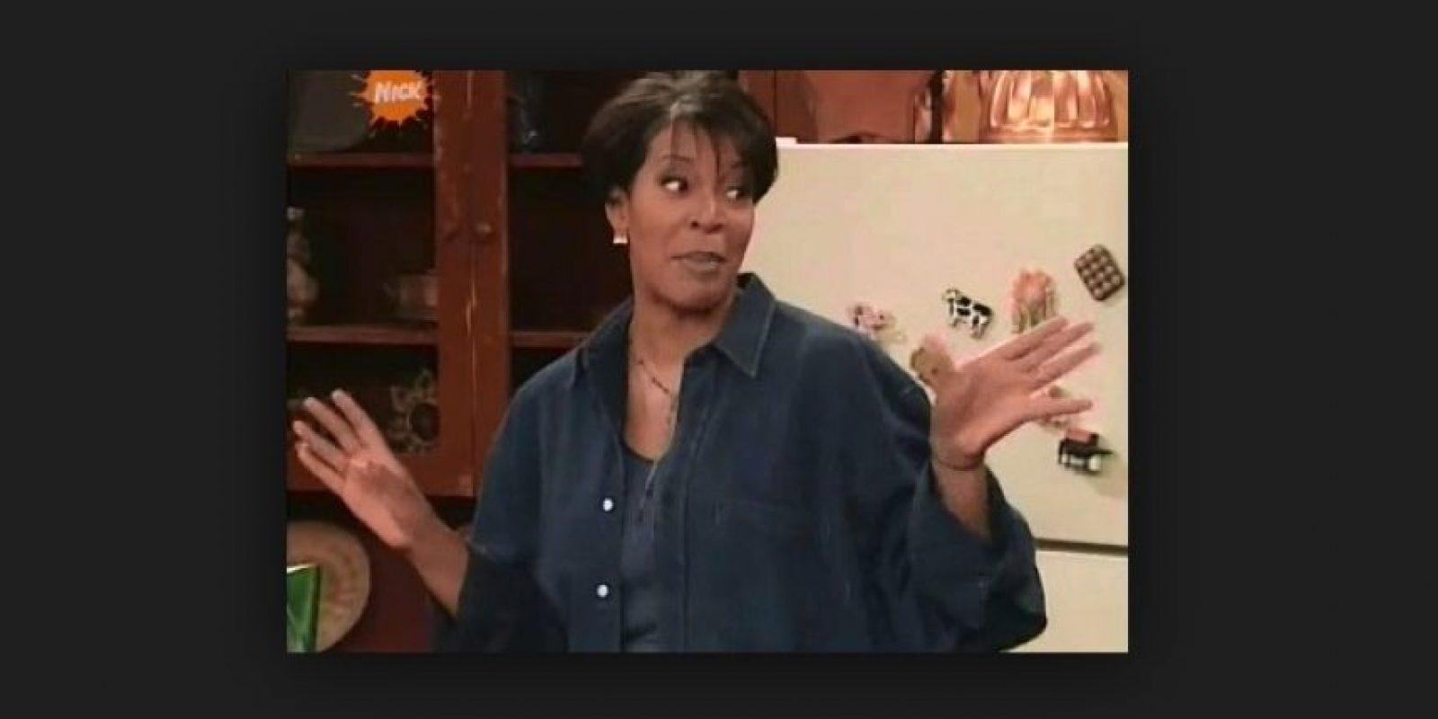 "Interpretó a ""Sheryl Rockmore"", la madre de ""Kenan"" Foto:Vía YouTube"