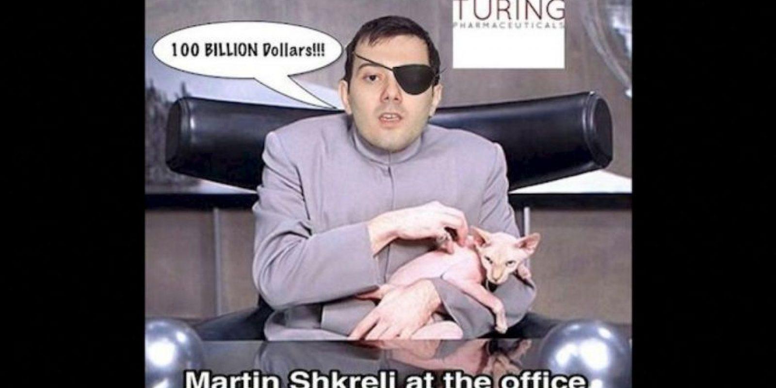 """""""Martin Shkreli en la oficina"""" Foto:Instagram.com – Archivo"""