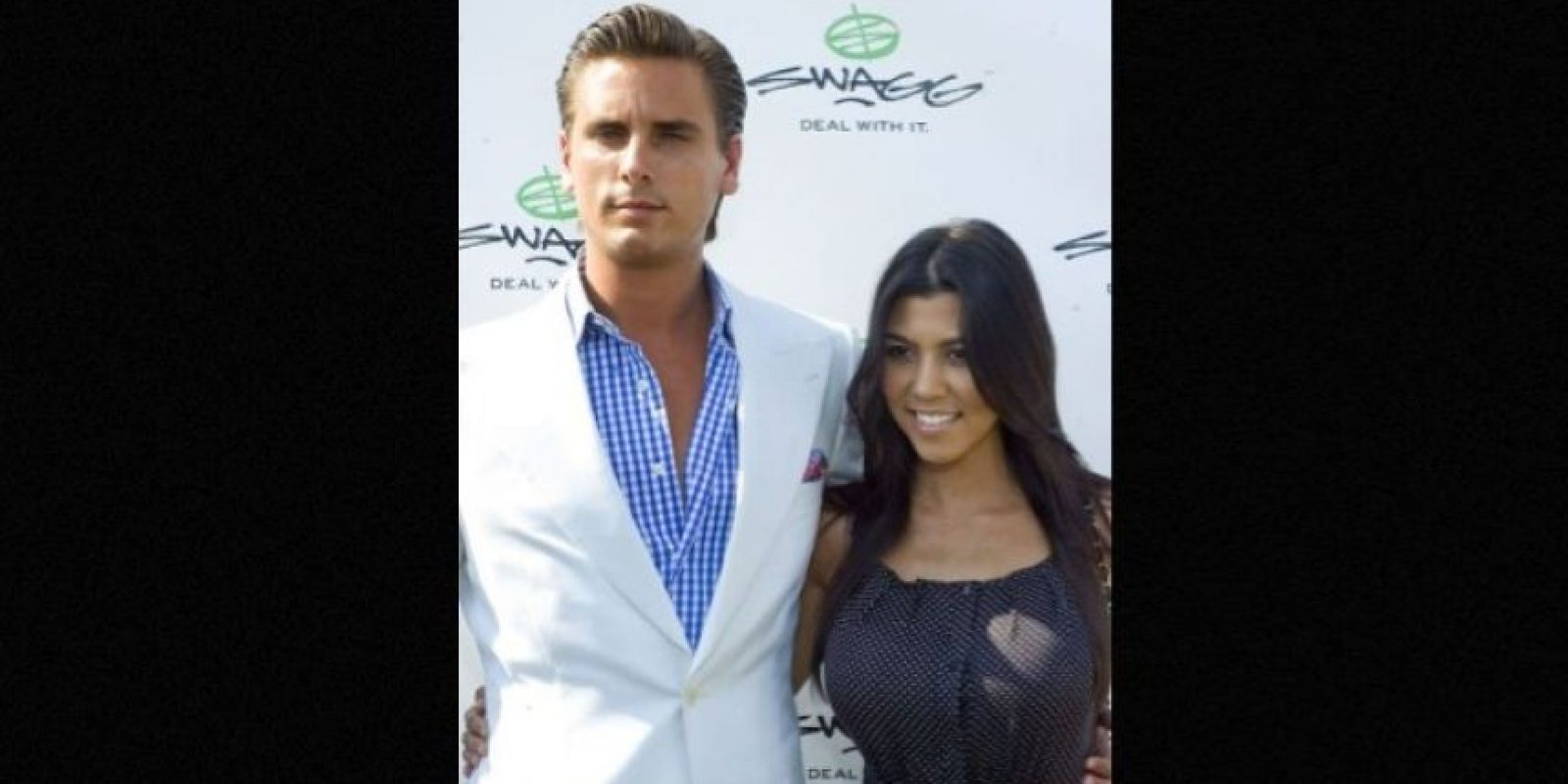Kourtney y Scott son padres de tres niños: Foto: Getty Images