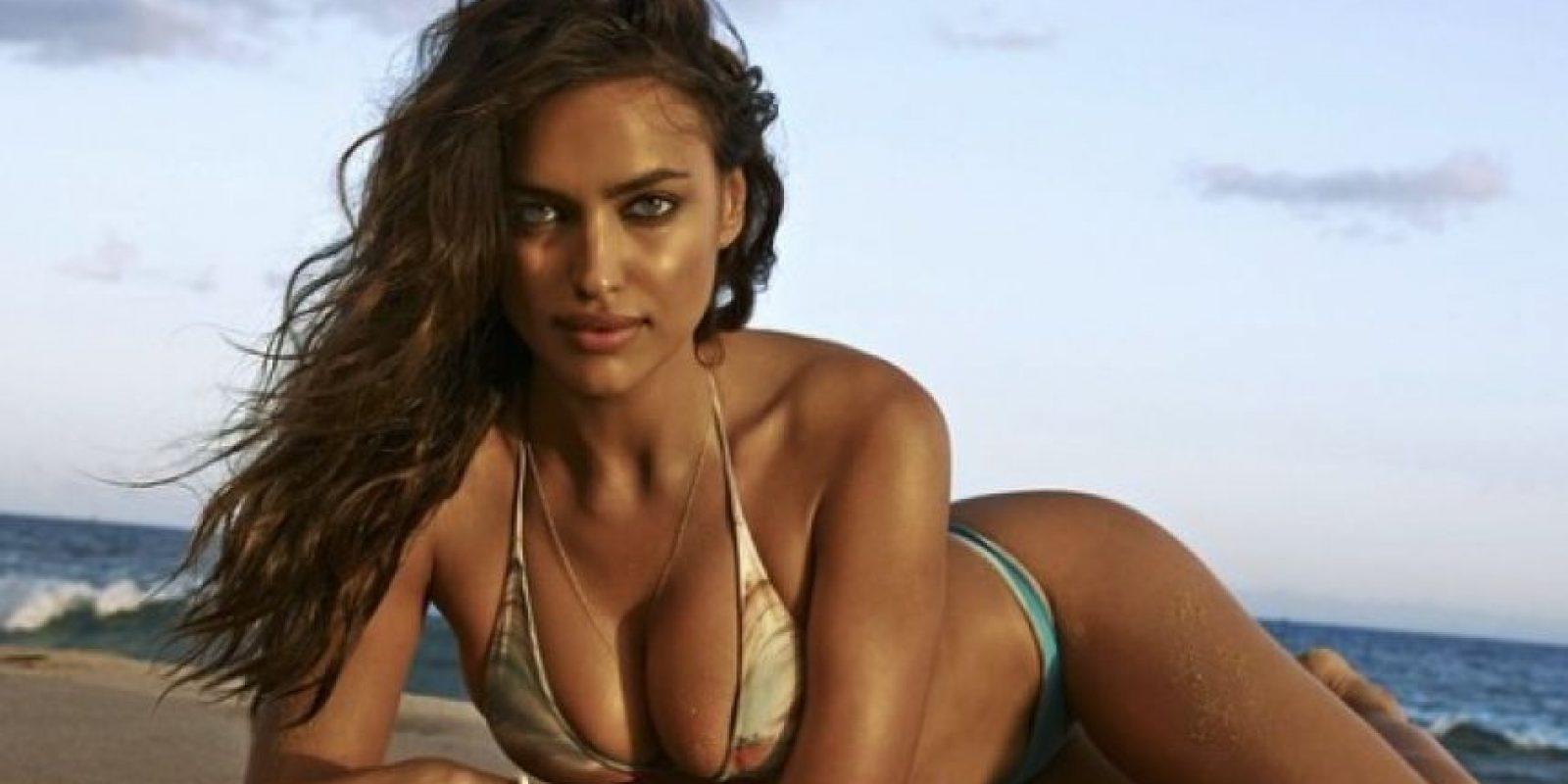 """Su gran salto a la fama fue cuando apareció en la portada de la revista """"Sport Illustrated"""" (2007). Foto:vía instagram.com/irinashayk"""