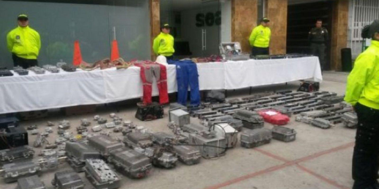 Los ladrones de internet Foto:Cortesía Policía De Bogotá