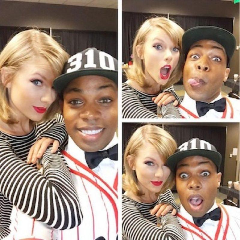 Hace unos días, Todrick Hall realizó un mix con las canciones de Taylor Swift. Foto:Instagram/toddyrockstar
