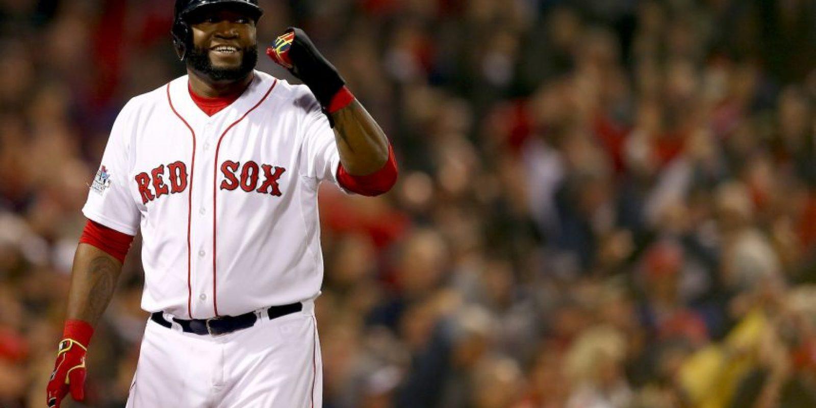 """Es mejor conocido como su apodo, """"Big Papi"""". Foto:Getty Images"""