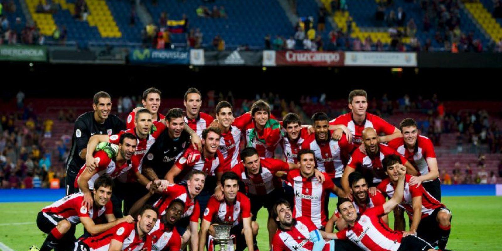 3. Perdieron la Supercopa de España con el combinado de Bilbao con un marcador global de 5-1 Foto:Getty Images