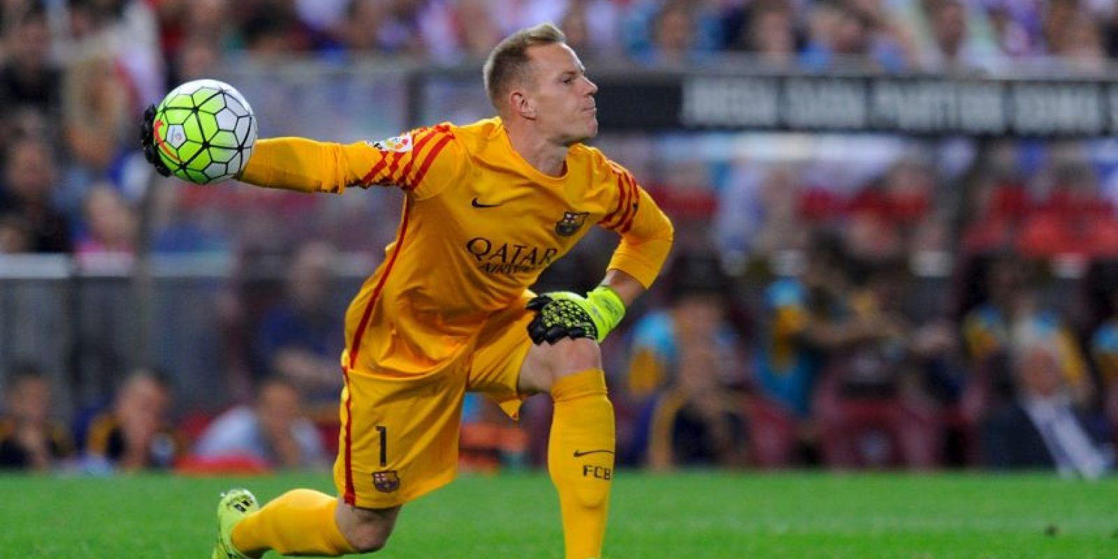 4. Ter Stegen como portero absoluto en Liga y Champions ha generado dudas Foto:Getty Images
