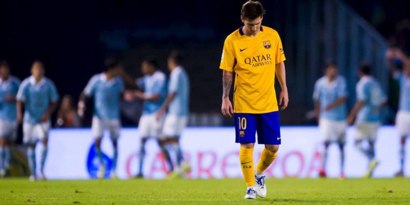 5. Ahora fue humillado 4-1 por el Celta de Vigo Foto:Getty Images