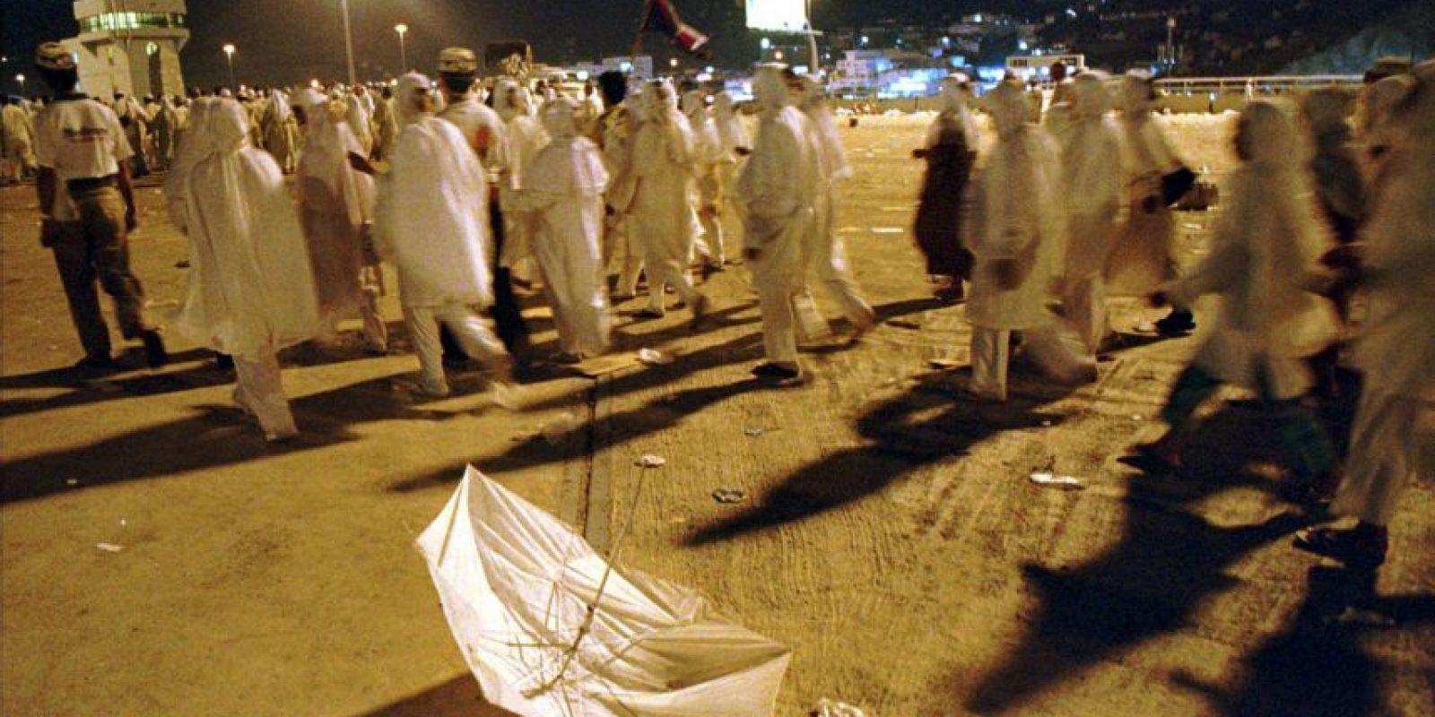 La cual dejó más de 700 heridos Foto:AP