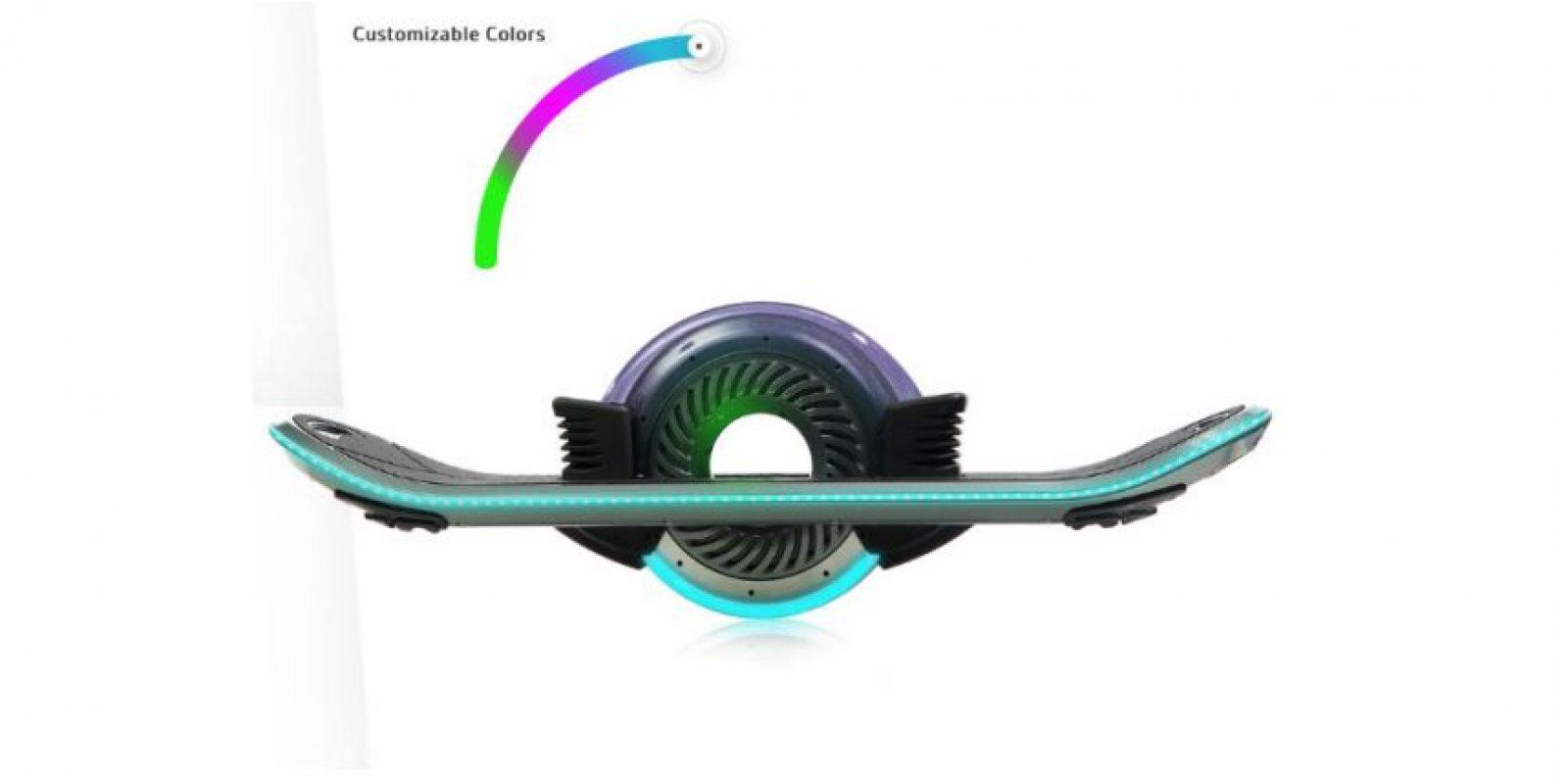 Y estará disponible en varios tonos Foto:hoverboard.com