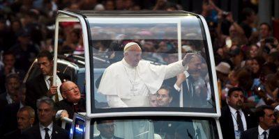 Su llegada al país Foto:AFP