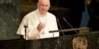 Francisco habló del narcotráfico, de la guerra y otros temas Foto:AFP