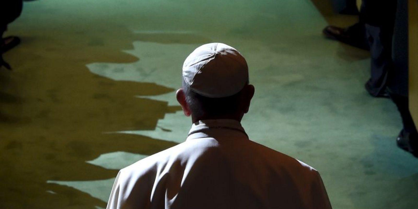 Es la quinta vez que un Papa visita la sede de las Naciones Unidas Foto:AFP