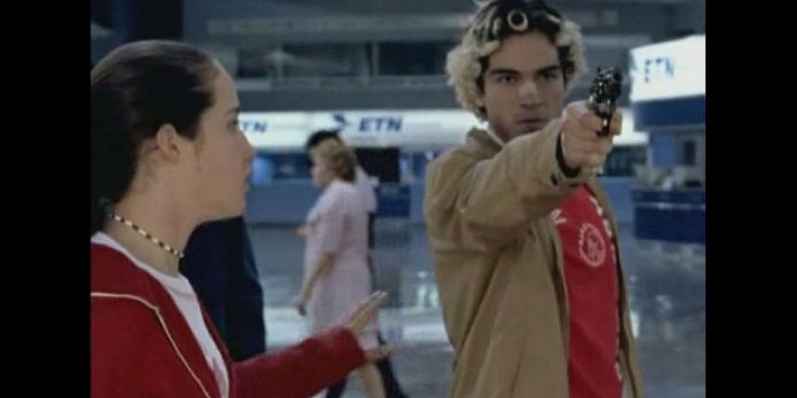 """Se formó como actor en el Centro de Educación Artística de Televisa (CEA) y su debut fue en la cinta """"Amarte duele"""" Foto:Videocine"""