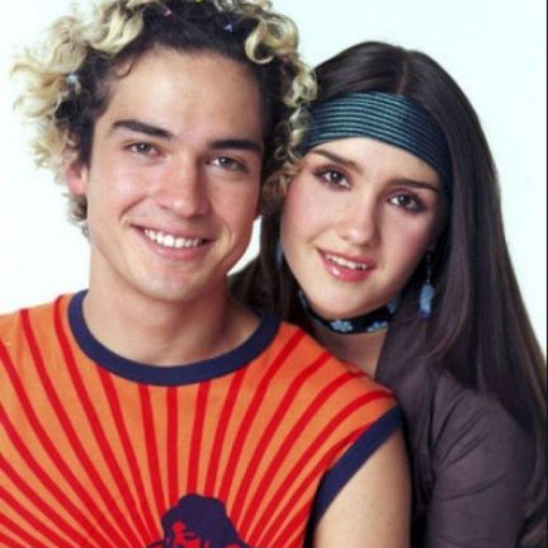 Ahí conoció a Dulce María, con quien vivió un romance. Foto:Televisa