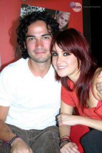 Dulce María y Alfonso Herrera terminaron su noviazgo en 2005. Foto:Televisa