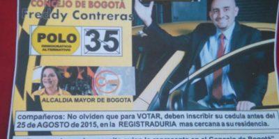 Se lanzó al concejo de Bogotá. Foto:Facebook Confederación Colombiana de Transporte Público