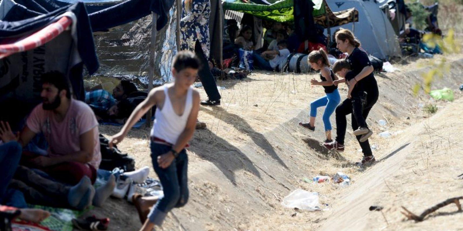 Tan solo en 2015, cerca de 500 mil personas han cruzado ilegalmente hacia Europa Foto:Getty Images