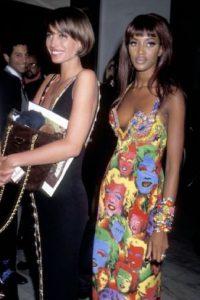 Pero Versace lo hizo antes. Foto:vía Vogue