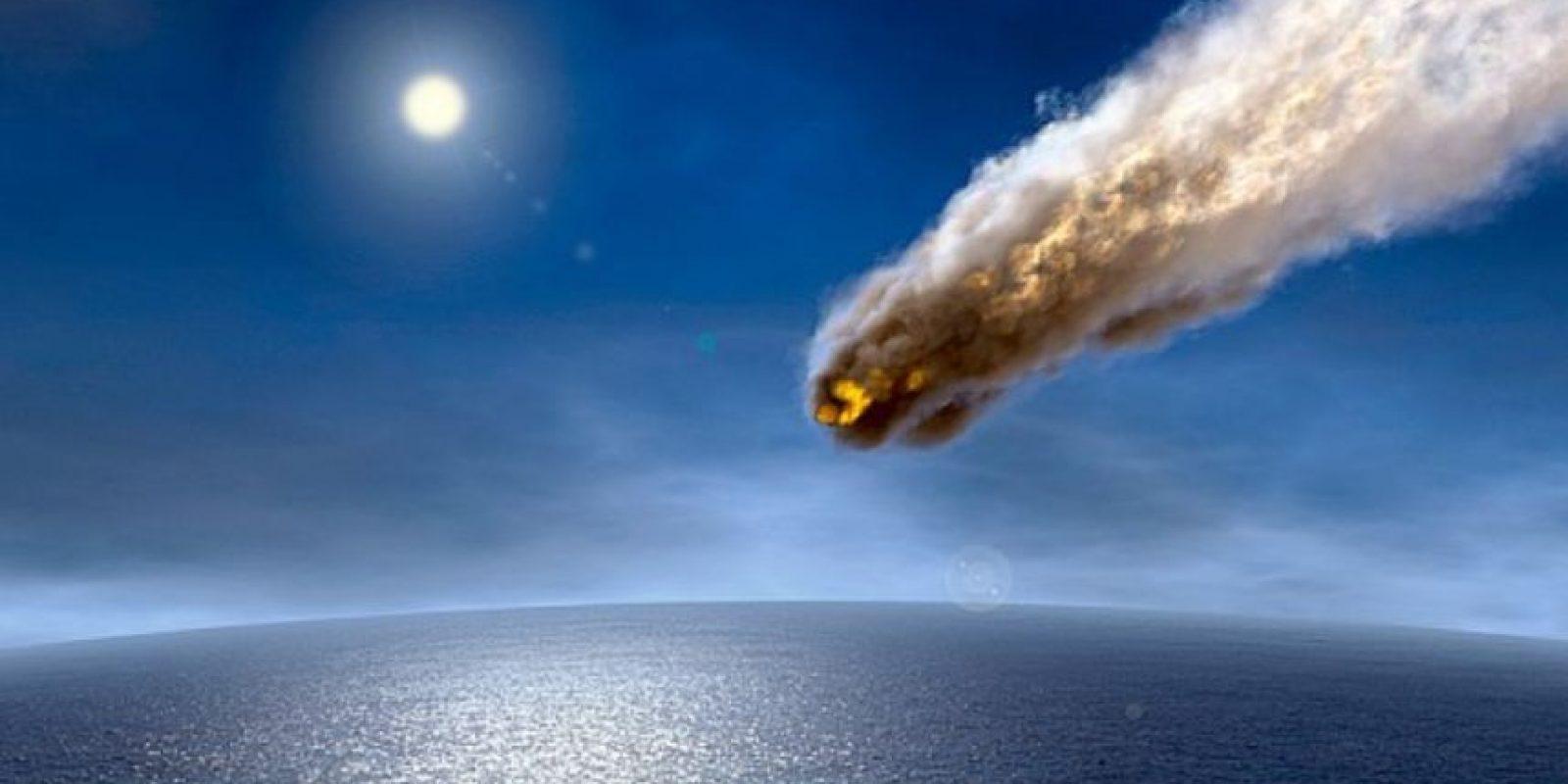 Aunque el temor mundial se acrecentó por el supuesto asteroide que caería (y no cayó), esto es lo que podría pasar si el asteroide que mató a los dinosaurios cayera en la Tierra. Foto:vía Astroart