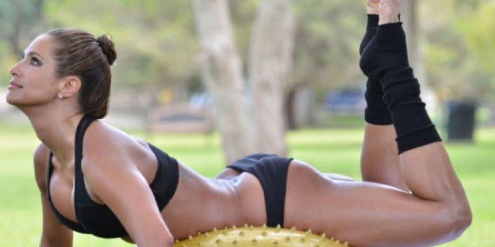 Hoy es una modelo fitness. Foto:vía Facebook