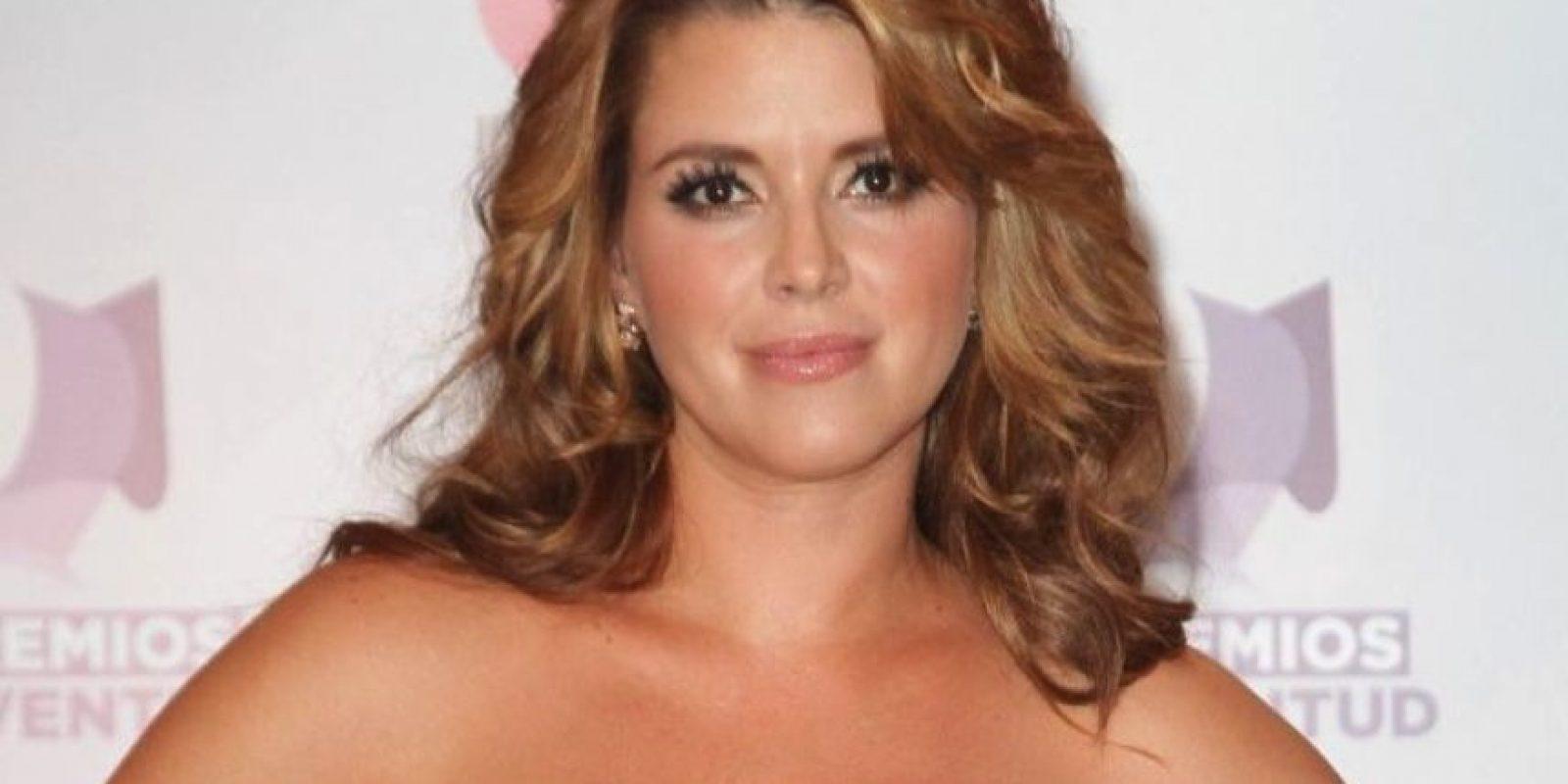 Alicia Machado: Tuvo sexo frente a millones de televidentes en 'La Granja', con un compañero del reality. Foto:Getty Images