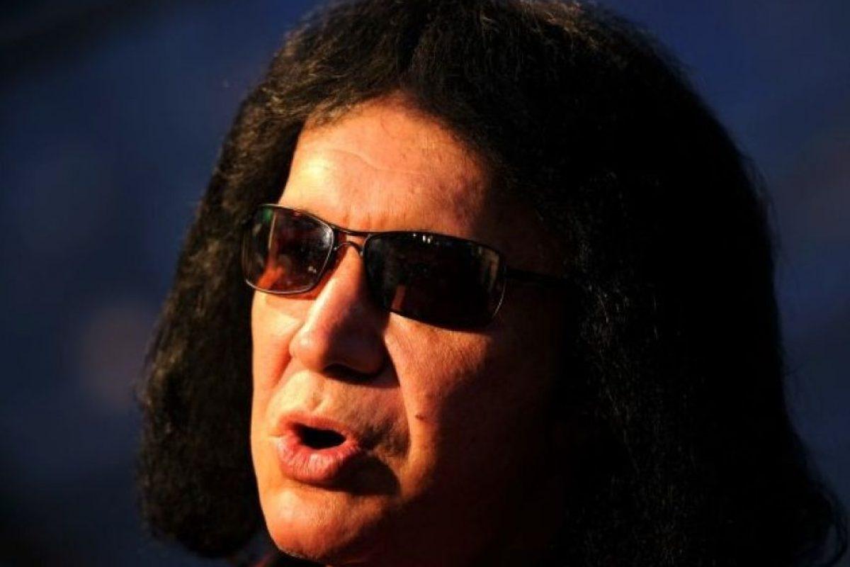 Gene Simmons: El vocalista de 'Kiss', dio de qué hablar por su famoso video casero. Foto:Getty Images