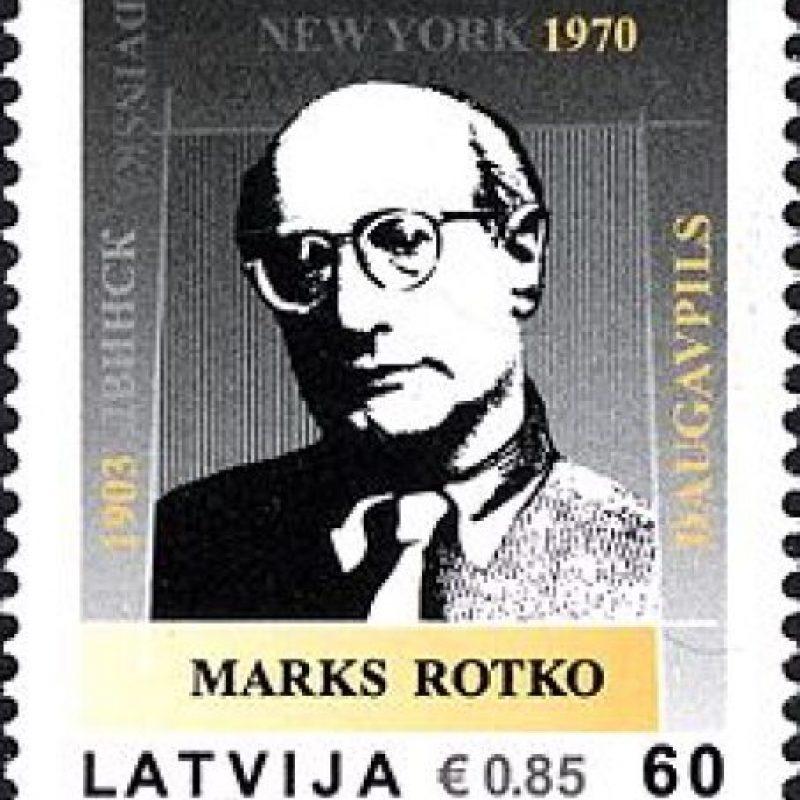 El pintor y grabador Mark Rothko Foto:Wikipedia