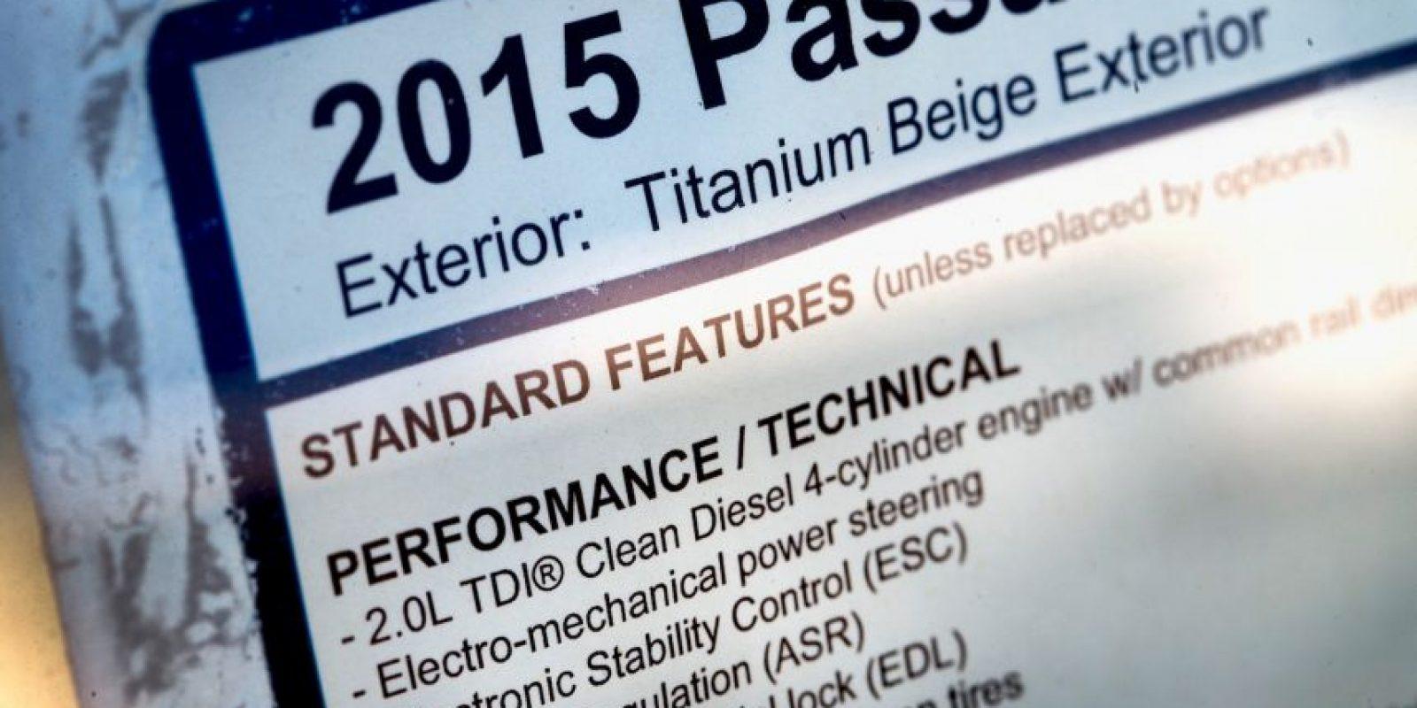 A principios de esta semana la empresa fue acusada de alterar el test de emisiones de CO2 de 11 mil automóviles. Foto:AFP