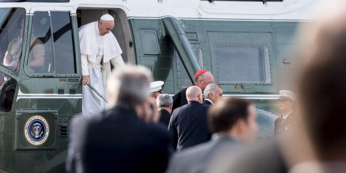El Papa Francisco continua gira por Filadelfia