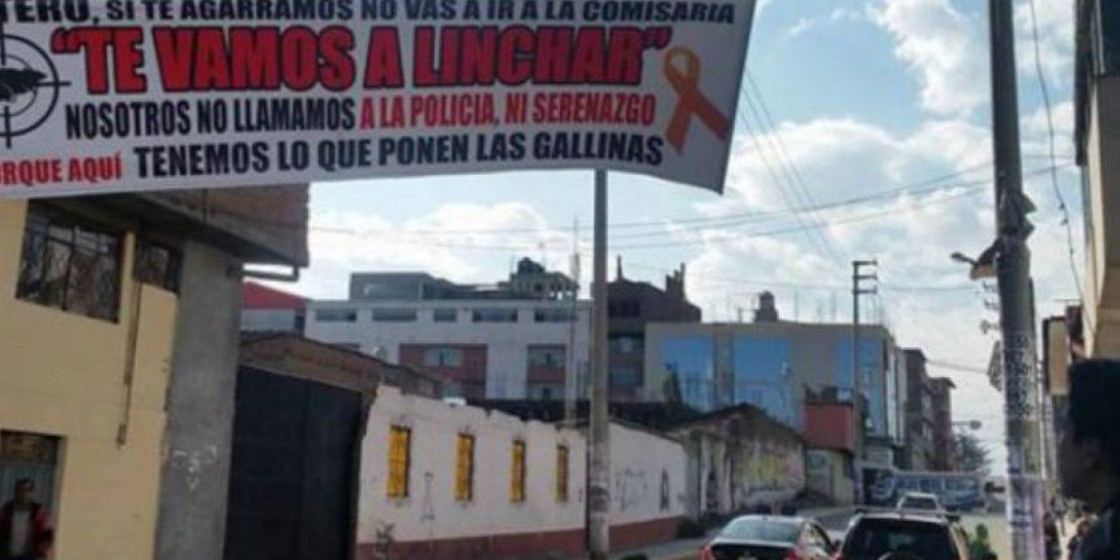 Esto, debido a que a los delincuentes los dejan libres luego de ser capturados. Foto:vía Facebook/Chapa tu Choro
