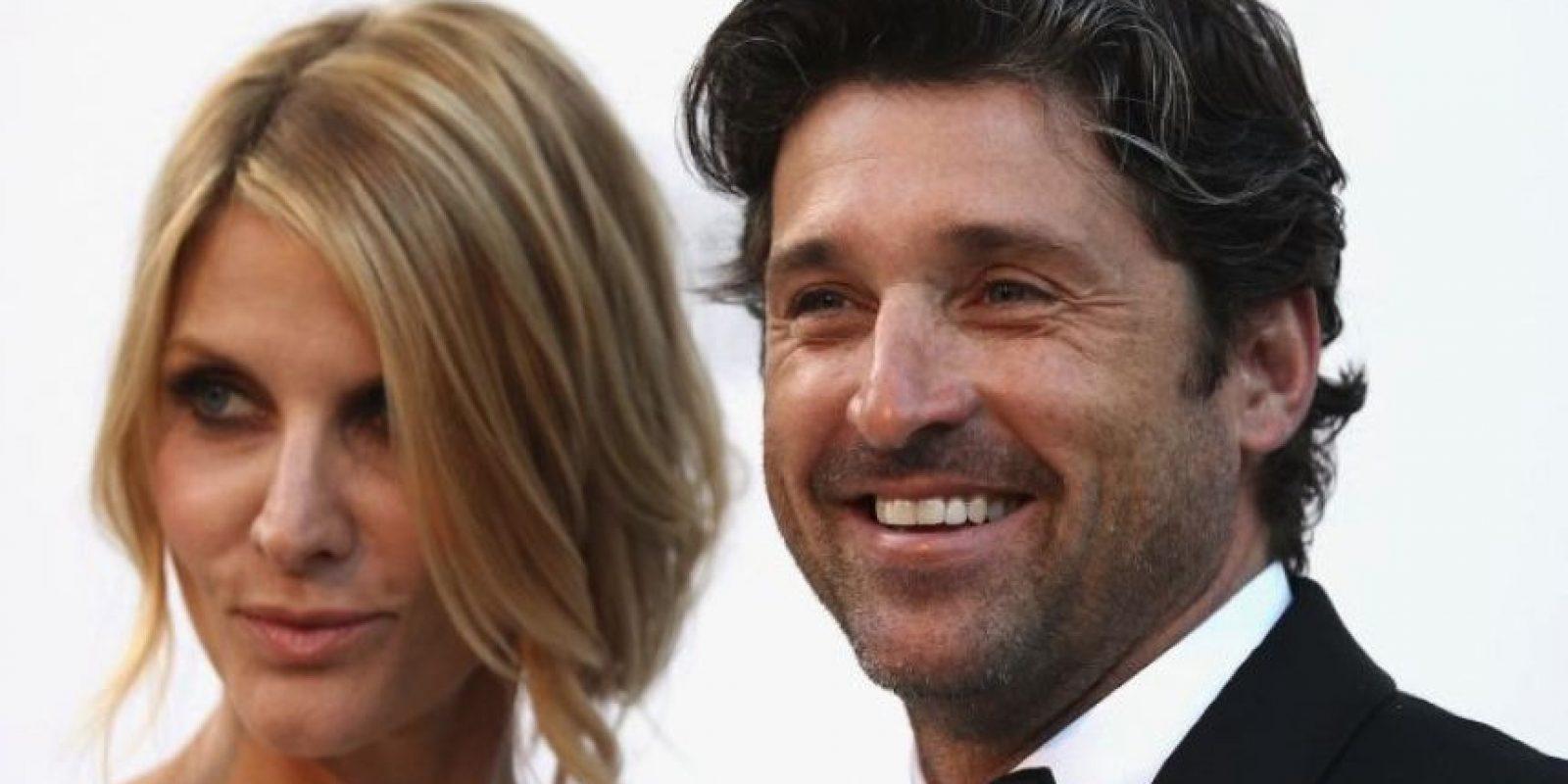Patrick Dempsey y Jillian Fink Foto:Getty Images