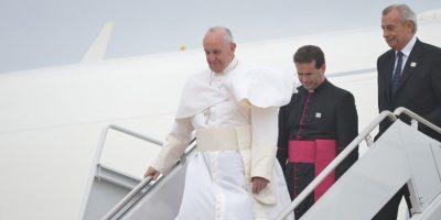 El Papa llegó a Estados Unidos el martes 22 de septiembre. Foto:AFP