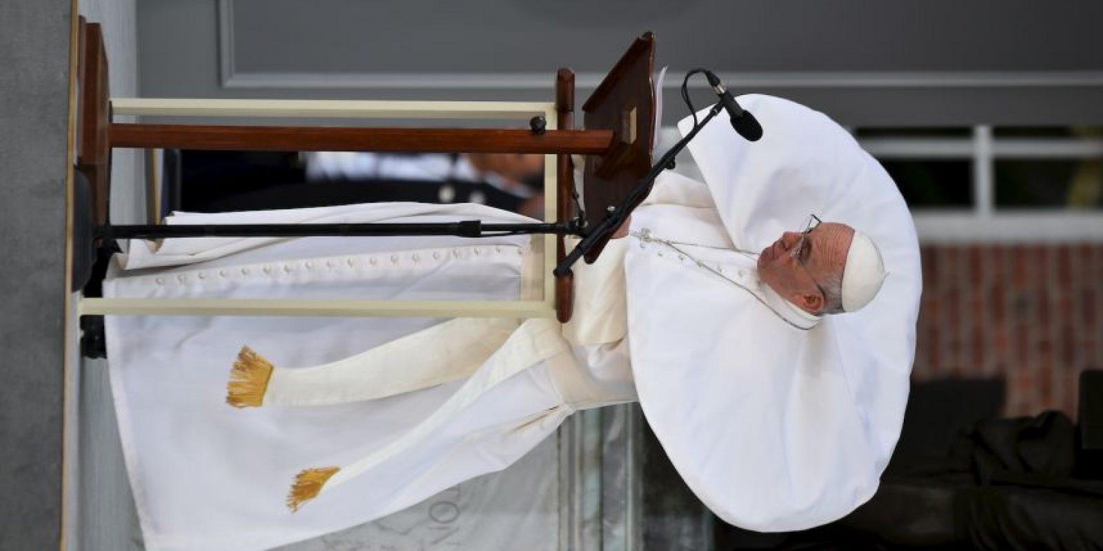 ¡No tiene respeto! Foto:AFP