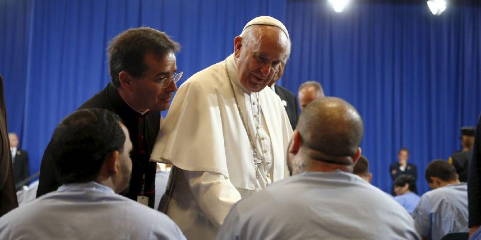 Unos cuantos cruzaron palabras con él. Foto:AFP