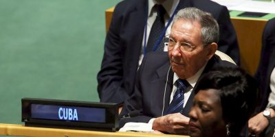 Castro declaró que la ONU debe salvar al mundo del subdesarrollo y del hambre Foto:Getty Images