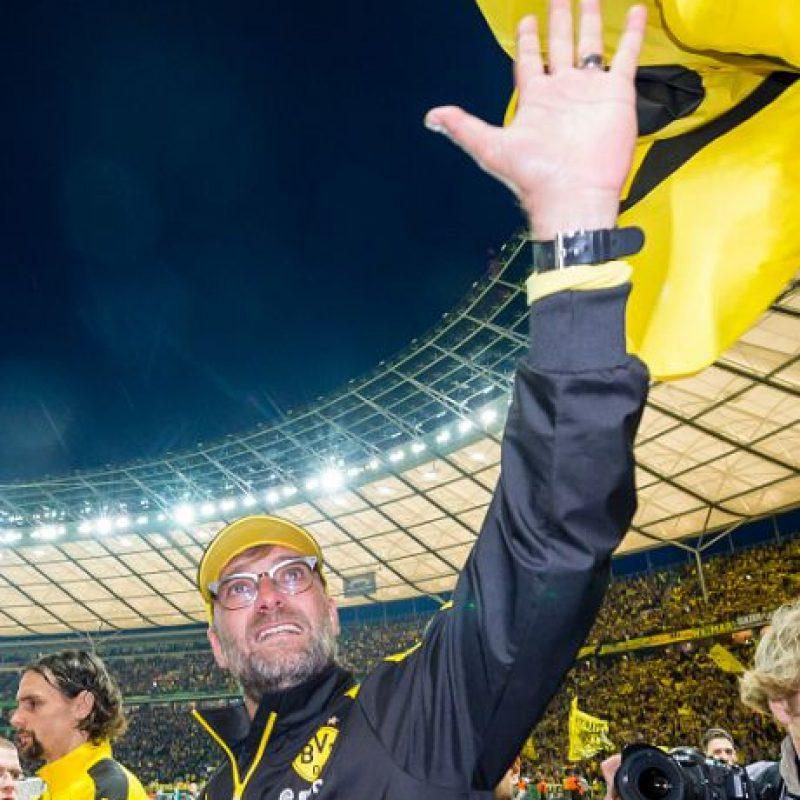 Jurgen Klopp, entrenador que marcó una era con el Borussia Dortmund, dejó al equipo al final de esta temporada. Foto:Getty Images