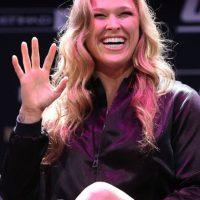 """""""Rowdy"""" es la campeona de Peso Gallo de Mujeres de la UFC. Foto:Getty Images"""