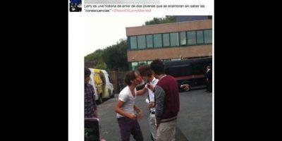 A dos años del supueso matrimonio entre Harry Styles y Louis Tomlinson, las fans celebran su amor. Foto:vía twitter.com