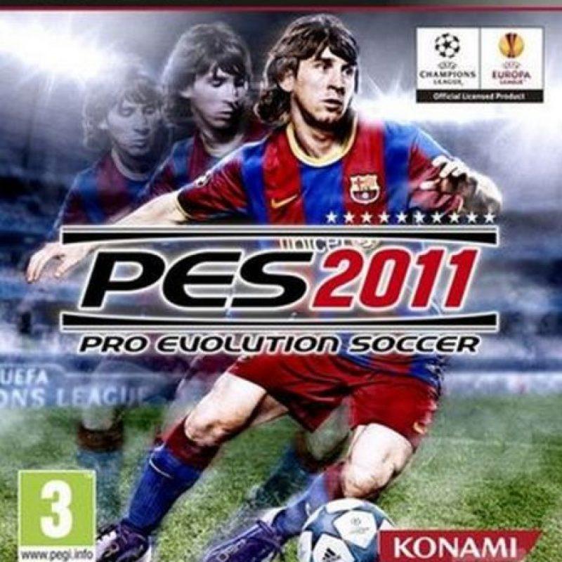 """""""PES 2011"""" con el argentino Lionel Messi. Foto:Konami"""