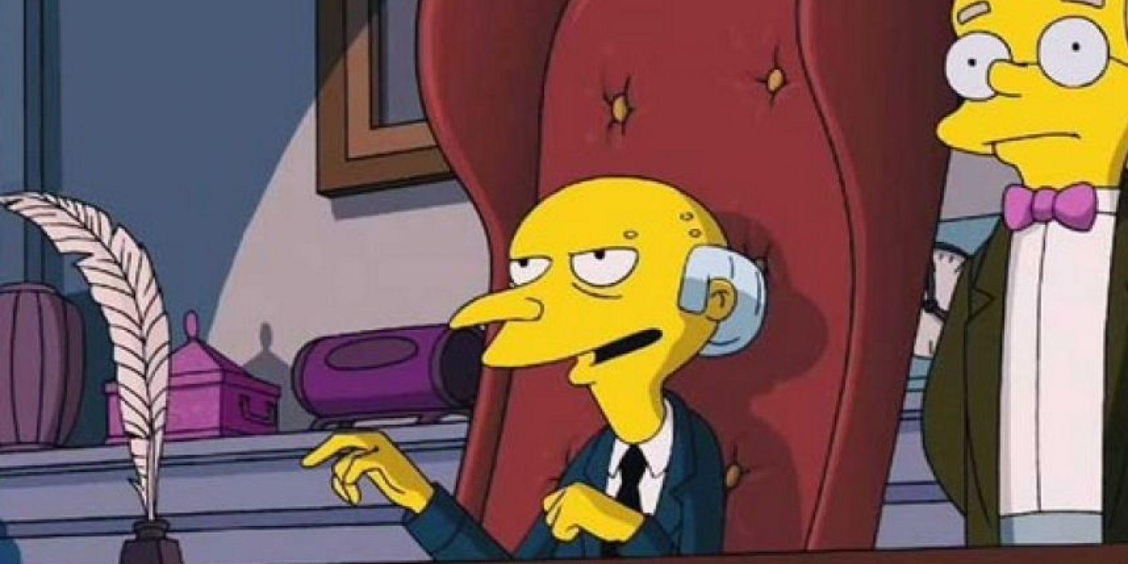 """Pero el """"Sr. Burns"""" no. Foto:20th Century Fox"""