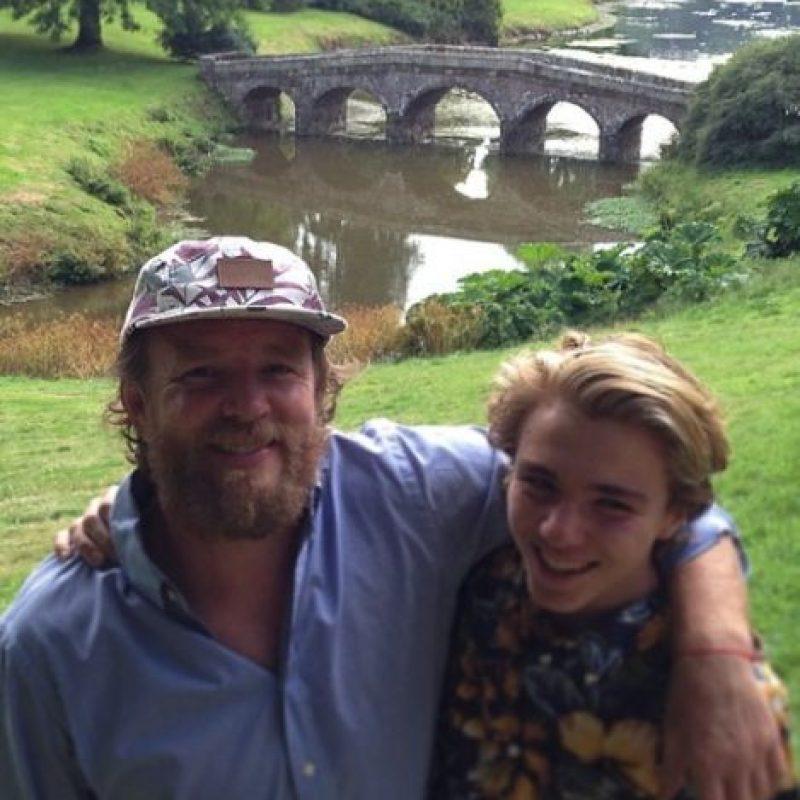 A pesar de estar separados, Rocco convive mucho con sus padres. Foto:vía instagram.com/tryadum