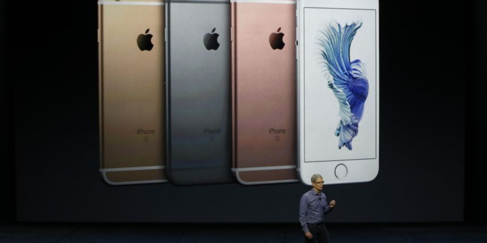 Colores: Plata, dorado, gris espacial, oro rosado. Foto: Apple