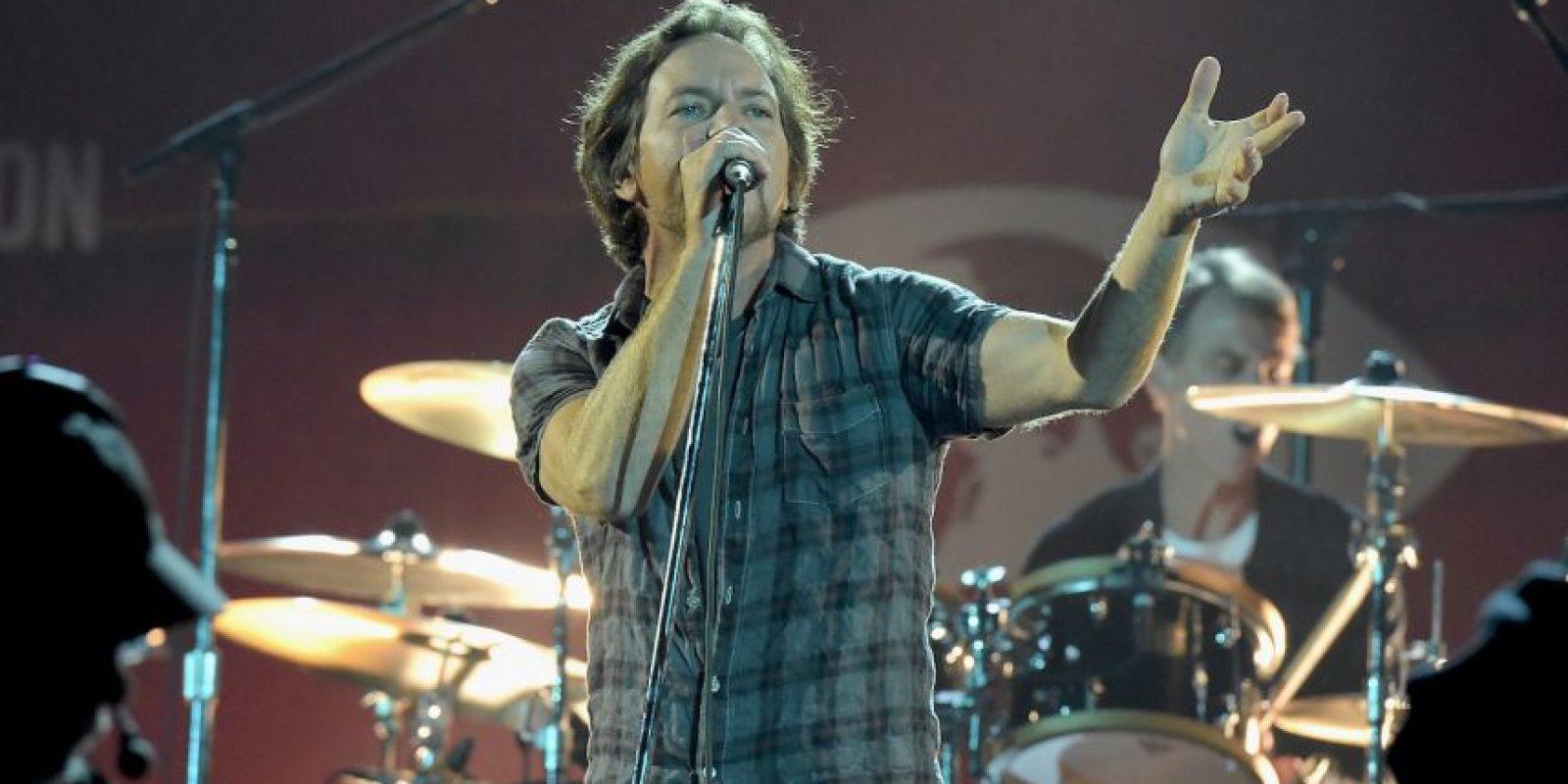 """Entre los participantes figuraron grupos como """"Pear Jam"""" y """"Coldplay"""" Foto:Getty Images"""