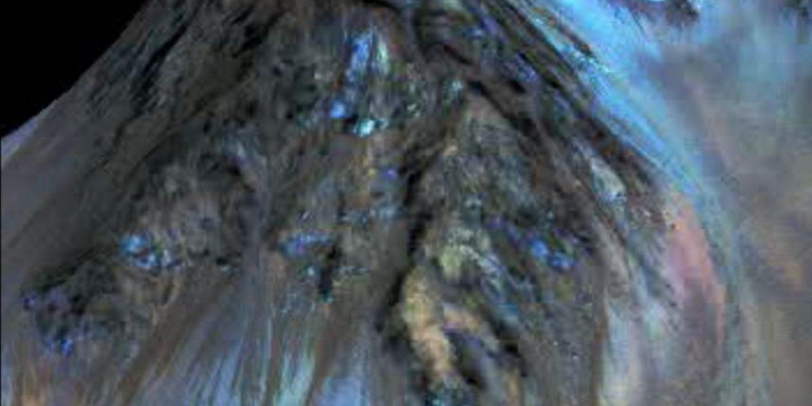 Las imágenes fueron recolectadas por la sonda Reconnaissance Orbiter (MRO) Foto:nasa.gov