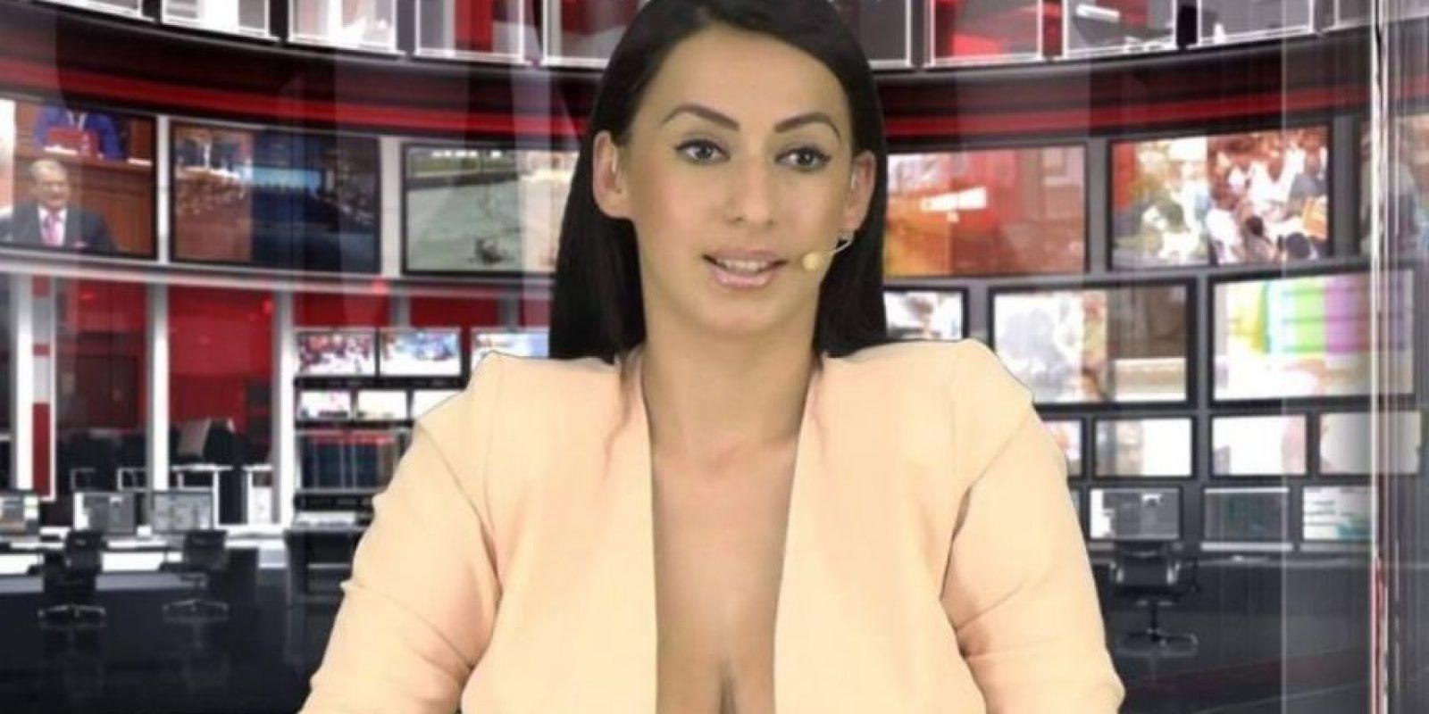 """Al respecto Enki mencionó: """"""""Soy un periodista que está justo en el comienzo de su carrera y al principio tienes que tomar algunos riesgos"""". Foto:Vía Facebook.com/enki.bracaj"""