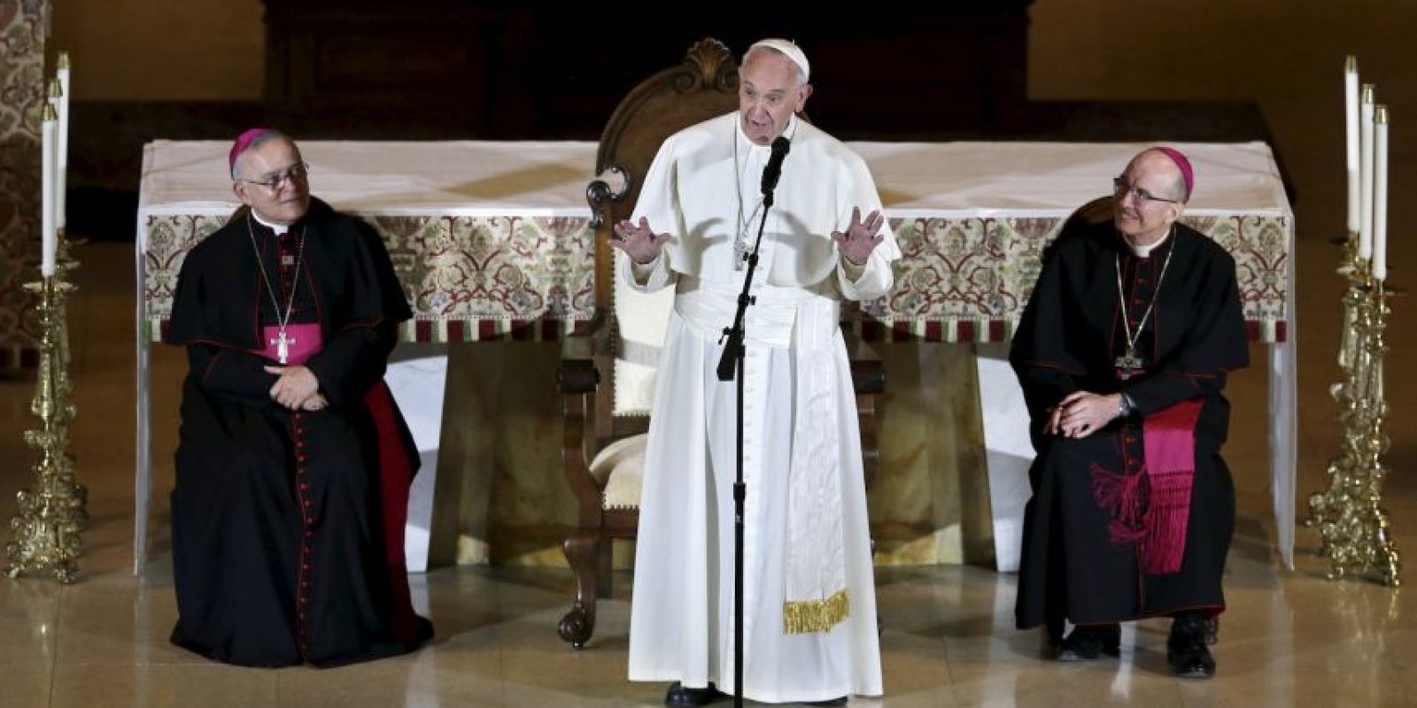 El pontífice se reunió con obispos estadounidenses para hablar sobre la problemática de abuso sexual. Foto:AP