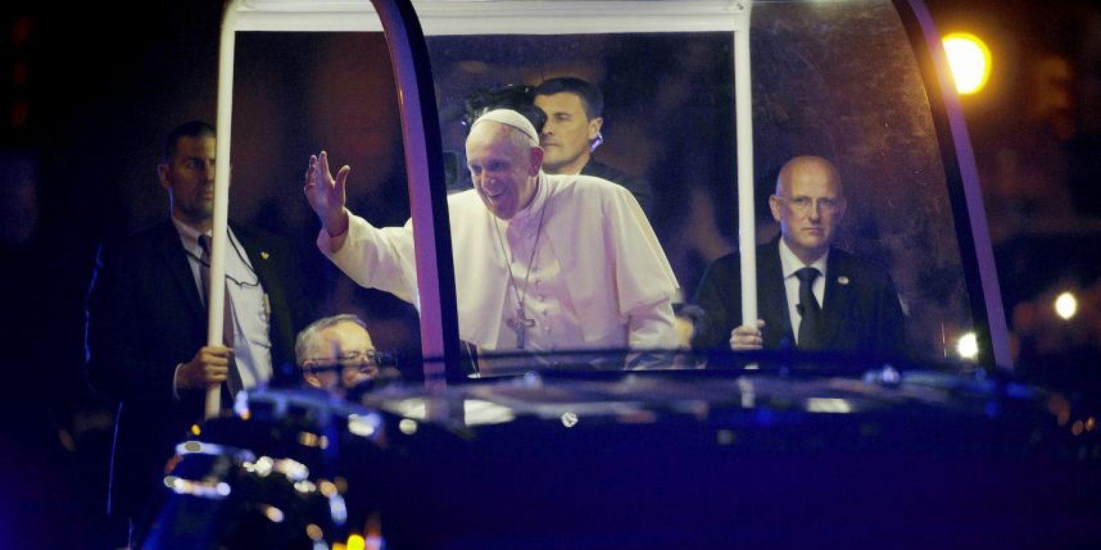 En sus discursos el Papa pidió por los migrantes. Foto:AP